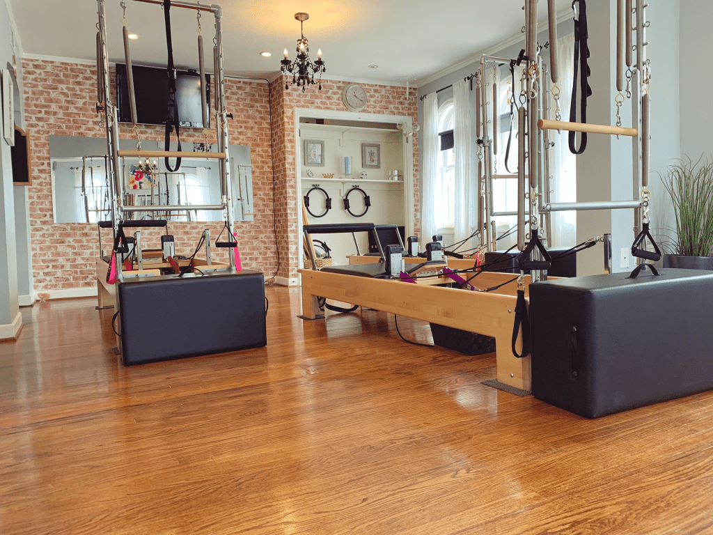 Fully equipped Pilates studio